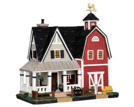**NO OUTER BOX** Lemax Village Collection Farmhouse # 55951 **READ DESCRIPTION**