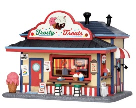 Lemax Village Collection Frosty Floats-N-Sundaes # 55968