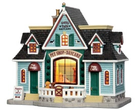Lemax Village Collection Happy Tails Pets and Daycare # 55976