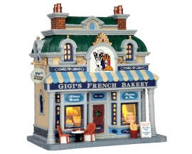 Lemax Village Collection Gigi's French Bakery # 55987