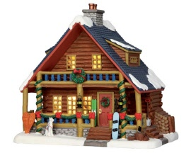Lemax Village Collection Parker's Cabin # 55988
