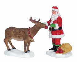 Lemax Village Collection Reindeer Treats Set of 2 # 62226