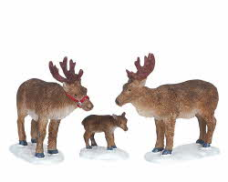 Lemax Village Collection Reindeer Set of 3 # 62242