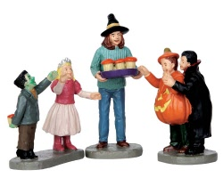 Lemax Spooky Town Tasty Treats Set of 3 # 62424