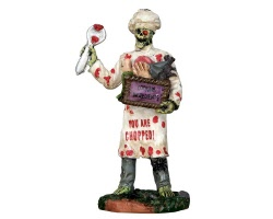 Lemax Spooky Town Ghoul Chef # 62430