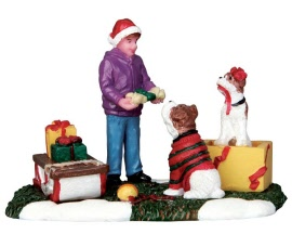 Lemax Village Collection Santa's Pets # 62432