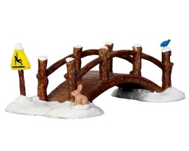 Lemax Village Collection Split Rail Footbridge # 63276