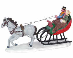 Lemax Village Collection Sleigh Ride # 63571