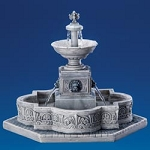 Lemax Village Collection Modular Plaza Fountain # 64061