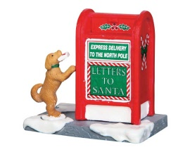 Lemax Village Collection Santa's Mailbox # 64073