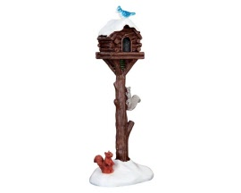 Lemax Village Collection Rustic Birdhouse Raid # 64086