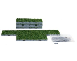 Lemax Village Collection Plaza System Grass Square 16 pieces # 64107