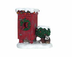 Lemax Village Collection Christmas Outhouse # 64481