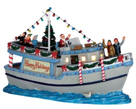 Lemax Village Collection The Yule Tide Yacht # 65077