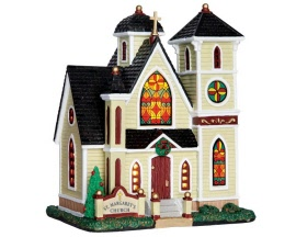 **NO OUTER BOX** Lemax Village Collection St. Margaret's Church # 65083 **READ DESCRIPTION**