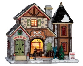 Lemax Village Collection The Red Moose Bar # 65093