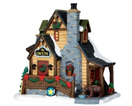 Lemax Village Collection The Owens' Cabin # 65095