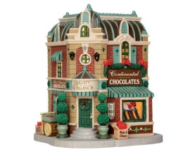 Lemax Village Collection Continental Chocolates # 65101