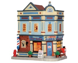 Lemax Village Collection The Corner Barber Shop # 65105