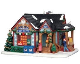 Lemax Village Collection Snowflake Lane Post Depot # 65108