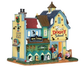 Lemax Village Collection Rex & Spot's Doggy School # 65109