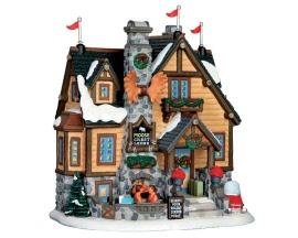 Lemax Village Collection Moose Crest Lodge # 65113