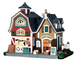 Lemax Village Collection Green Valley Milk # 65116