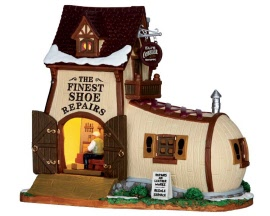 Lemax Village Collection Eli's Cobbler Shoppe # 65123