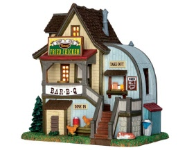Lemax Village Collection Sunny Acres Famous Fried Chicken # 65124