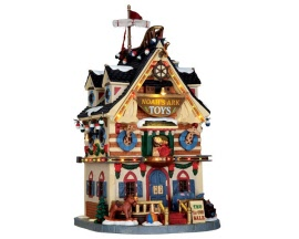 Lemax Village Collection Noah's Ark Toys with Adaptor # 65130
