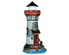 Lemax Village Collection Hidden Island Lighthouse Battery Operated  # 65158