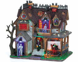 **NO OUTER BOX** Lemax Spooky Town Boogiemen's Hangout with Adaptor # 65438 **READ DESCRIPTION**