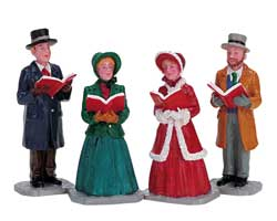 Lemax Village Collection Christmas Harmony Set of 4 # 72403