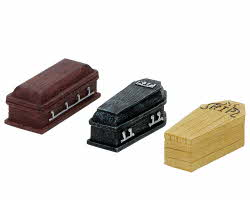 Lemax Spooky Town Coffins Set of 3 # 74583