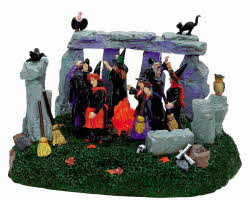 Lemax Spooky Town Witches' Coven # 74596