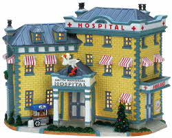 Lemax Village Collection Smith Memorial Hospital # 75509