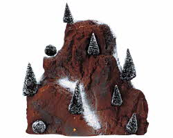 Lemax Village Collection Medium Village Mountain Backdrop # 81012