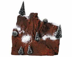 Lemax Village Collection Small Village Mountain Backdrop # 81013