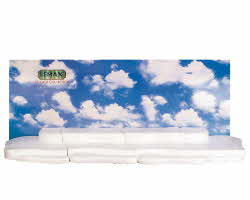 Lemax Village Collection Sky Backdrop with Display Material 4 Foot # 84242