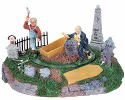 Lemax Spooky Town Grave Robber's Surprise # 84741