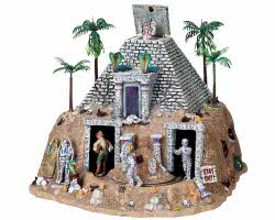 Lemax Spooky Town Haunted Pyramid with Adaptor # 84770