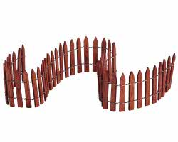 Lemax Village Collection Wired Fence 18 inch # 84813