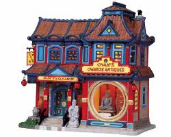 Lemax Village Collection Chan's Chinese Antiques # 85713