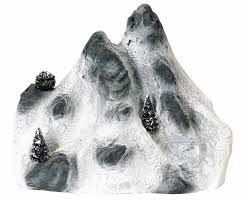 Lemax Village Collection Small Ski Mountain Backdrop # 91024