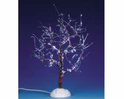 Lemax Village Collection Lighted Ice Glazed Tree Multicolor # 94001