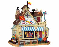 Lemax Village Collection Wind Catcher Kite Shop # 95813