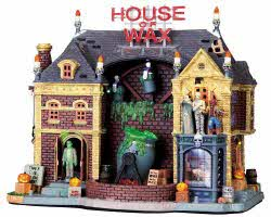 Lemax Spooky Town House Of Wax with Adaptor # 95827