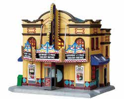 **NO OUTER BOX** Lemax Village Collection Bijou Theater # 95884 **READ DESCRIPTION**