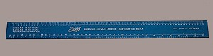 G Scale Metal Ruler