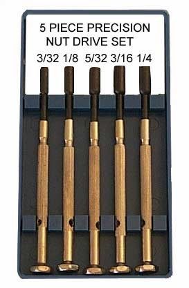 Mini SAE Nut Driver 5 Piece Set